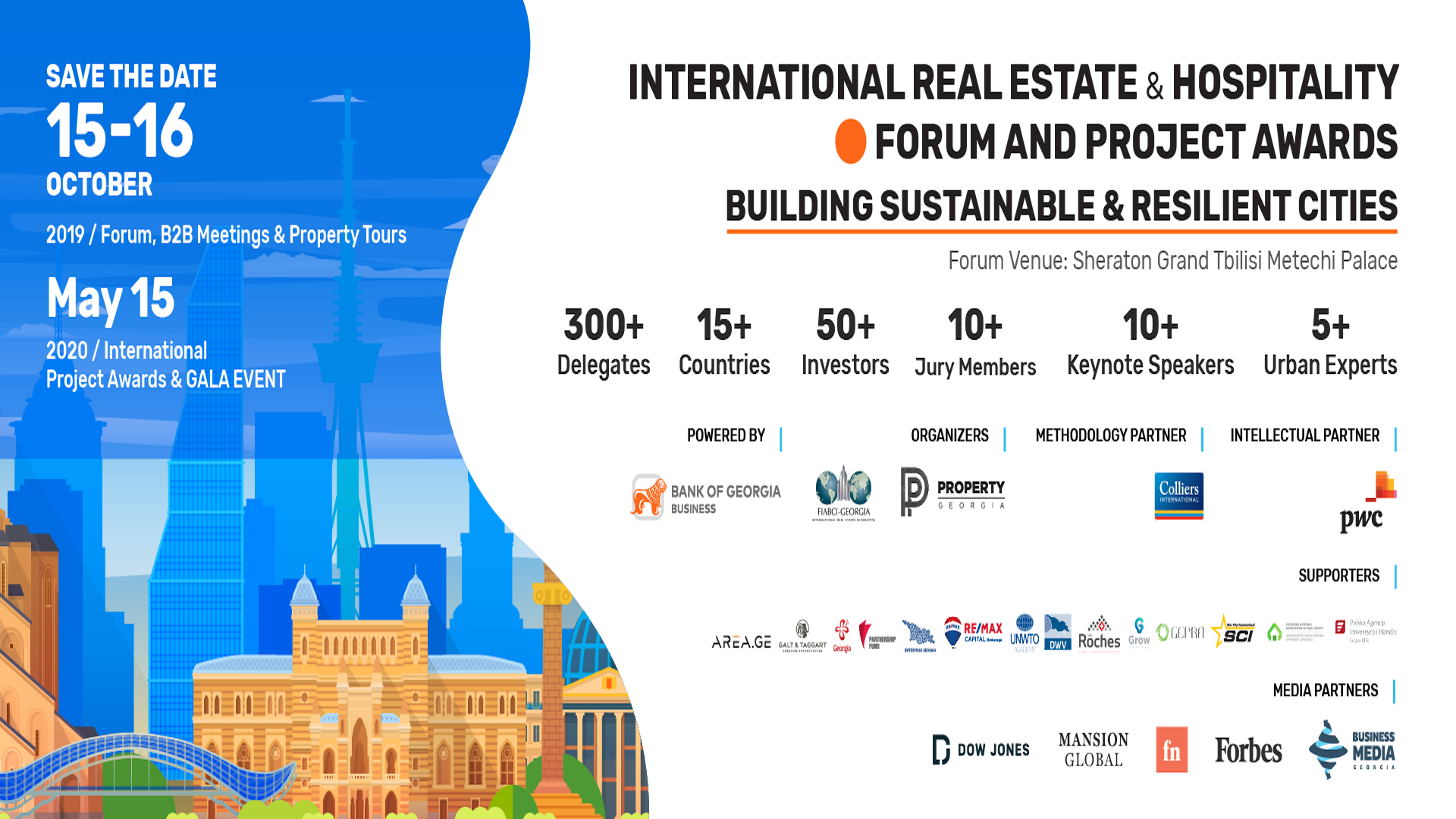Georgia To Host An International Real Estate and Hospitality Forum & Awards